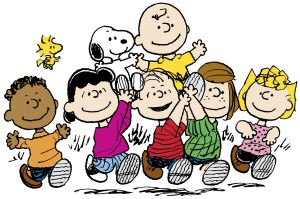 America's most iconic comic strips: Peanuts.
