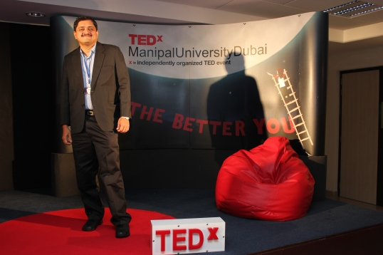 "Dr.Mandar V Bichu on ""If you want, you can…make a difference"""