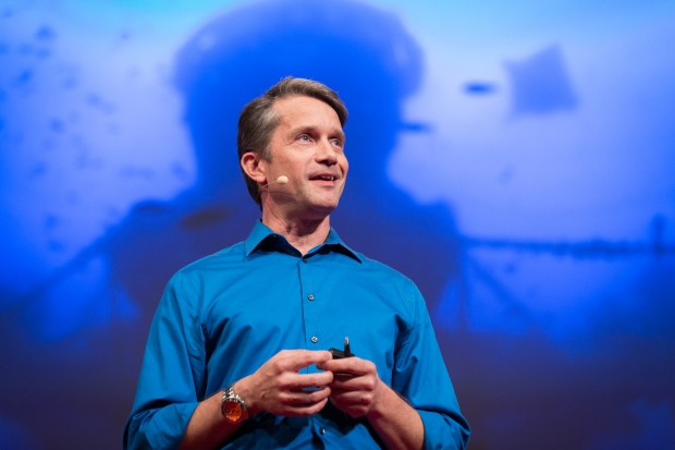 Fabien Cousteau speaks at TEDGlobal 2014. Photo: James Duncan Davidson/TED